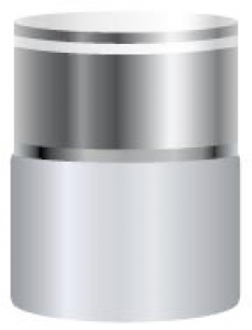 Silver skin care cosmetics