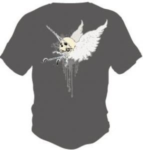 Skull t-shirt vector design