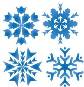 Snowflake pattern shape design