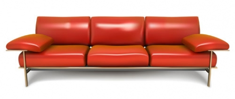 Sofa vector design