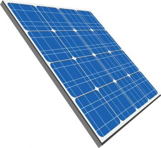 Solar panels vectors design