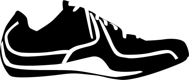 shoes vector silhouettes rh vector eps com Horse Shoe Vector Running Shoe Vector