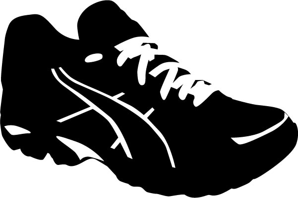 Running Shoe Vector Sport shoes vector silhouettes