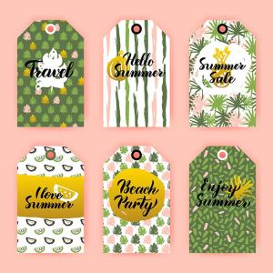 Hello Summer Gift Labels