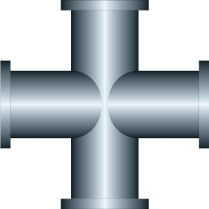Steel iron pipe vectors