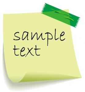 Paper note design