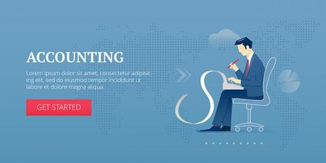 Accounting web banner