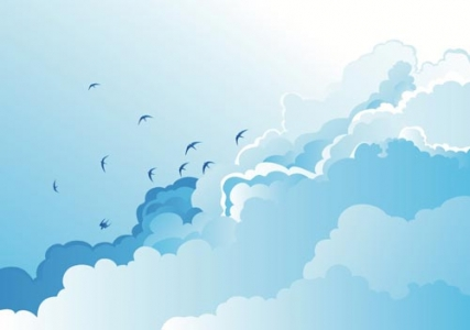 Clouds vector design