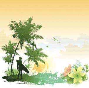 Tropical tree vector design