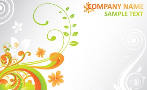 Summer business cards