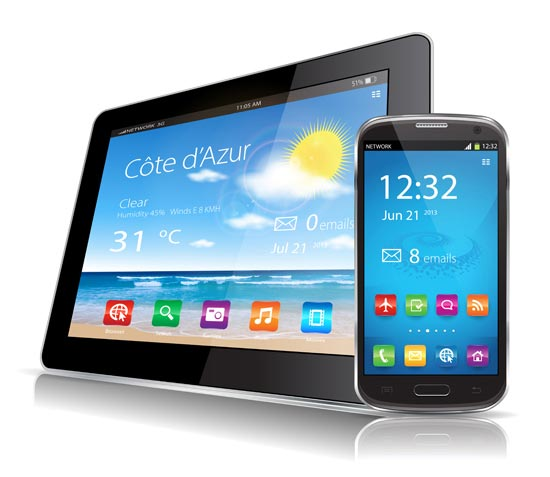 Smartphone + Tablet Gratis