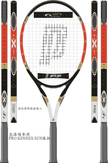 Tenis and badminton raquet vector