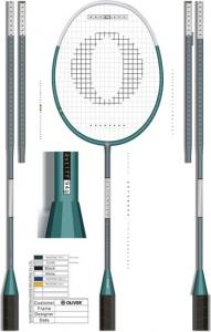 Badminton vector design
