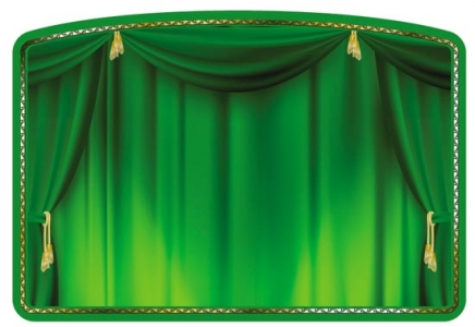 Theater curtain template