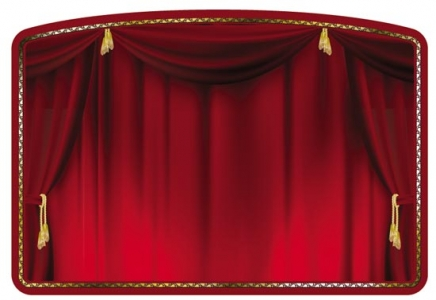 Theater curtain design