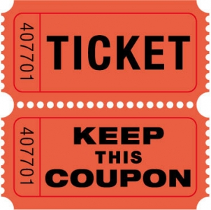 Ticket coupon model