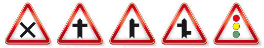 Traffic Icon Vector Traffic Signs Vector Icons
