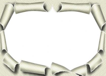 Wedding photo frame template