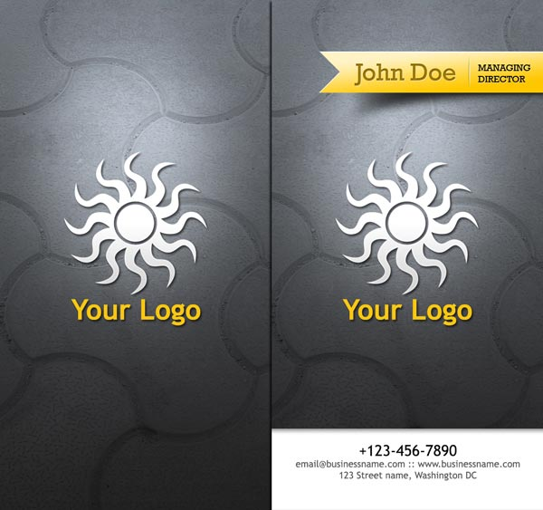travel business cards with 4 vertical backgrounds