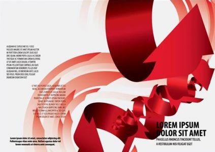 Tri fold corporate brochure template