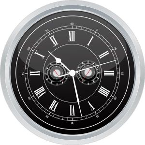 Types of watches vector templates