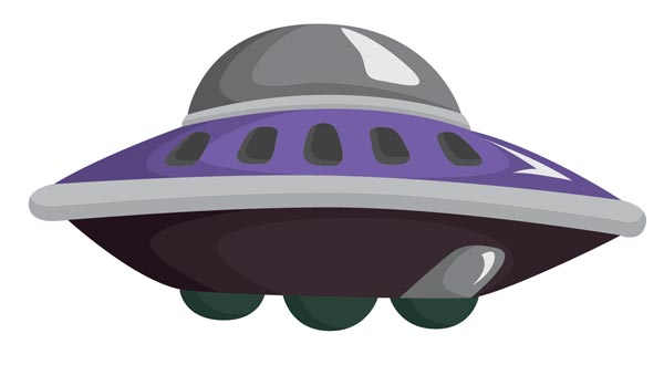 spaceships vector cartoons