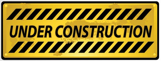 Under construction vector sign Under Construction Signs
