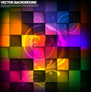 Colorful background vector layout