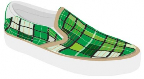 Vector shoe design