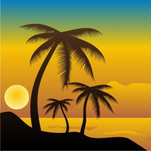 beach-with-palm-trees-vector1