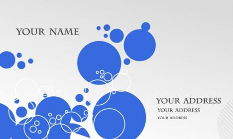 Business cards vectors template
