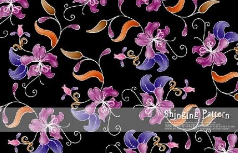 Flower banner vector