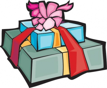 Vector gift box design