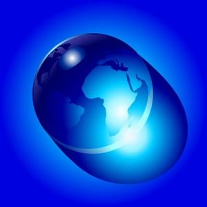 Vector globe design