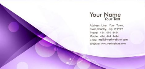 Vectorized business cards background