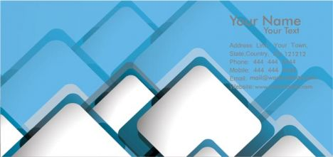 Vectorized business cards template