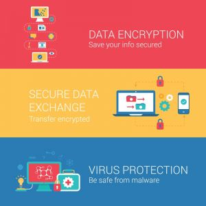 Data encryption protection vector