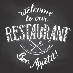 Welcome to our restaurant chalkboard printable,Welcome to our restaurant chalkboard printable