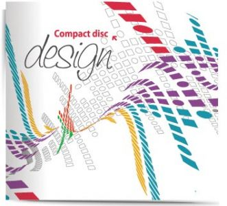 Violet CD corporate identity vector