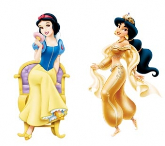 Walt Disney Princess vector