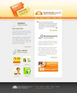 Web design templates