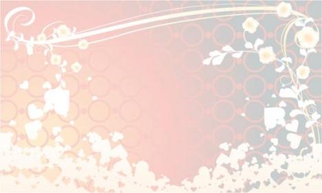 Wedding background vector