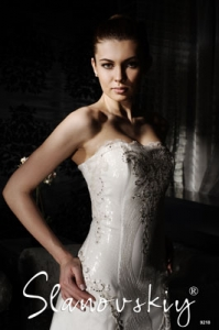 Wedding dress model