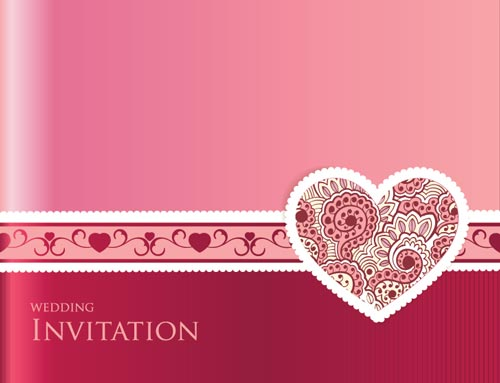 Wedding invitation cards vectors wedding invitation card vector stopboris