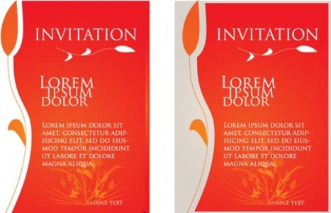 Wedding invitations model