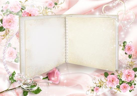 Wedding Photo Frames.Wedding Photo Frame Album For Photoshop