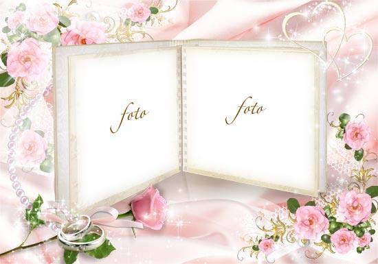 wedding photo album background