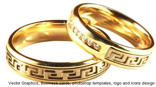 Png wedding rings collection designs