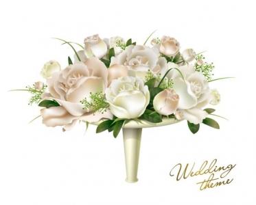 Wedding template vector design