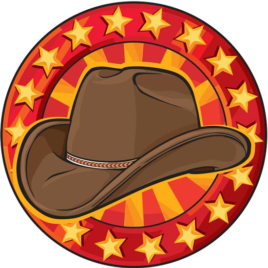 Wild West Cowboy Cartoons Vector This classically designed cowboy western hat is an icon of the everyday american lifestyle. wild west cowboy cartoons vector